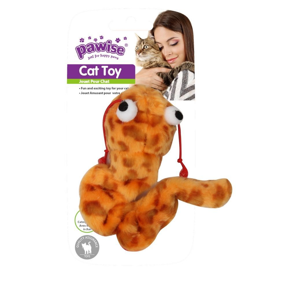 Minhoca que Vibra Brinquedo para Gato Pawise