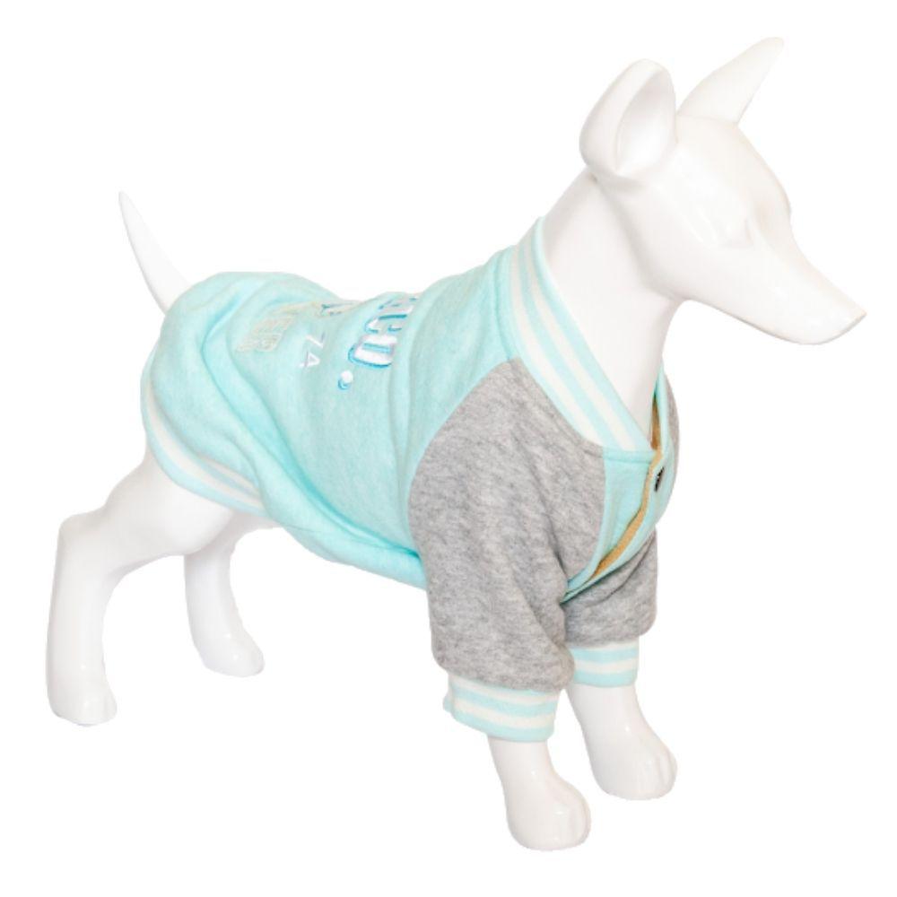 Moletom Para Cachorro Inverno Blue Tam. GG