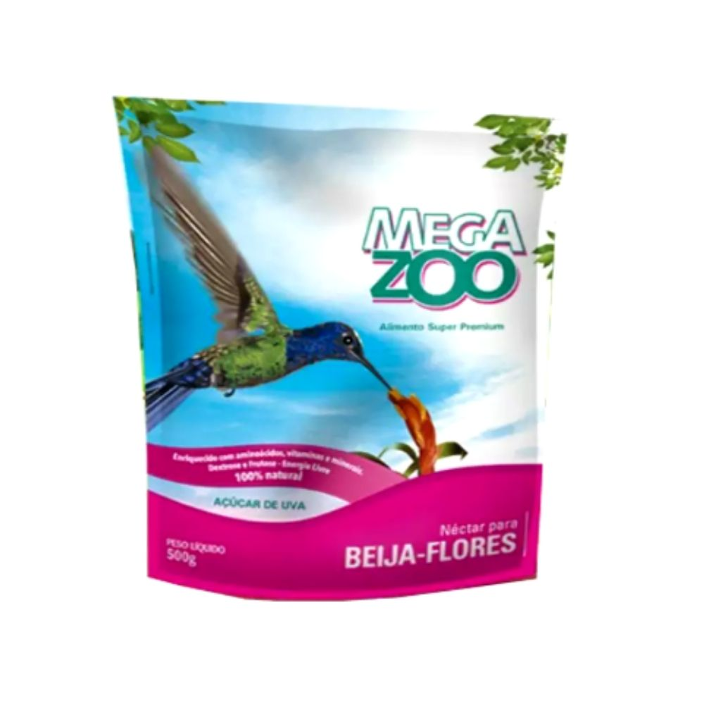 Néctar para Beija Flor 500g Megazoo