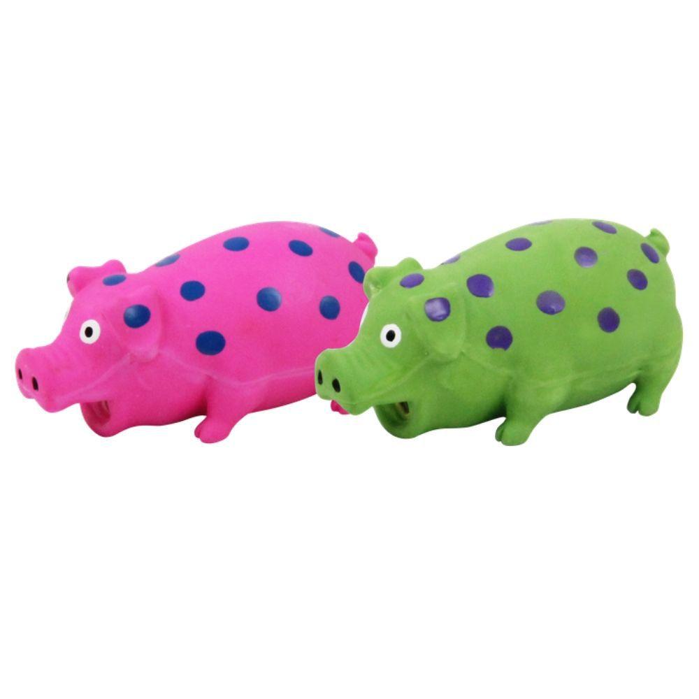 Brinquedo para Cachorro Porco 18cm Pawise