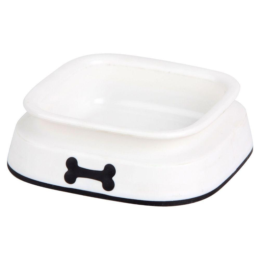 Prato de Plástico para Cachorro Médio 550ml Pawise