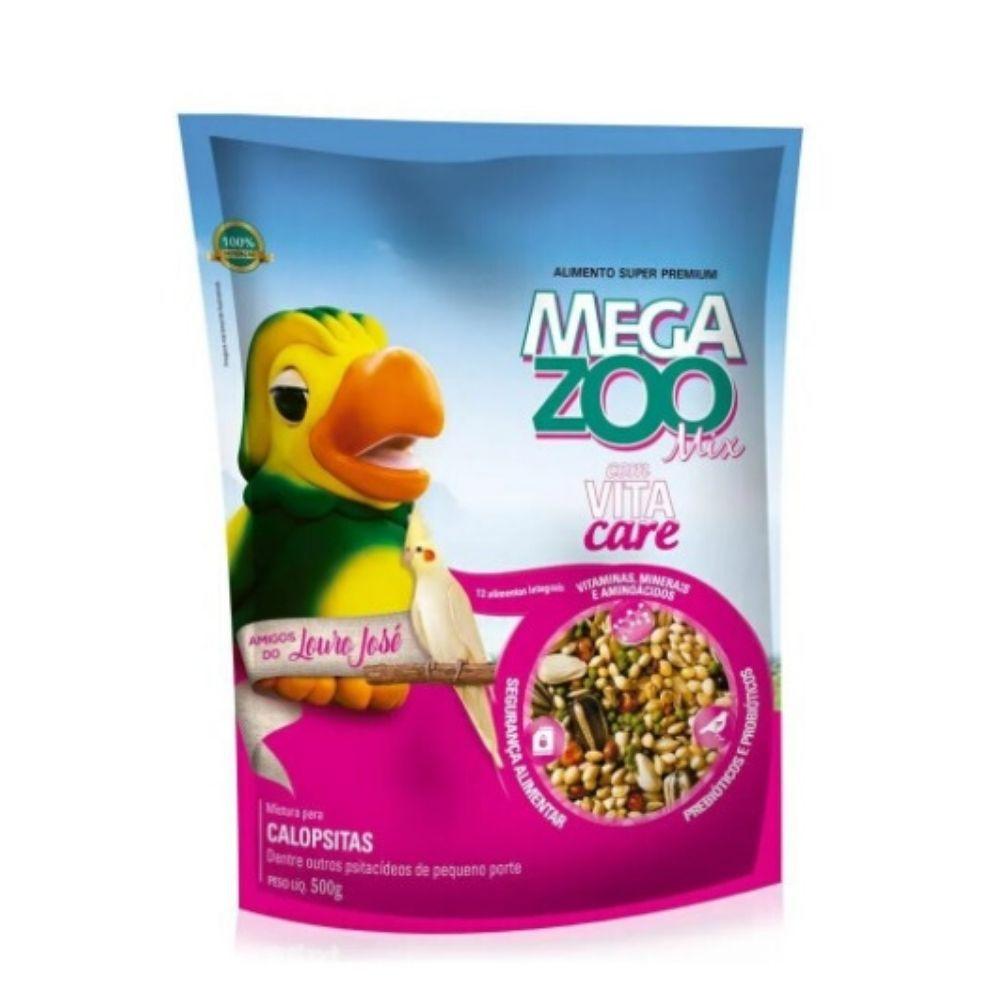 Ração Calopsita Louro José 500 g Megazoo Mix