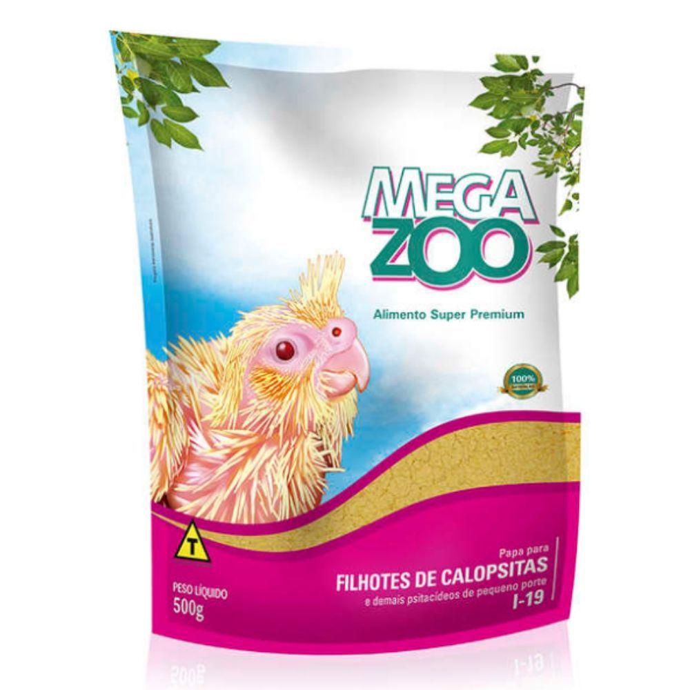 Ração I19 para Filhote de Calopsita 500g Megazoo