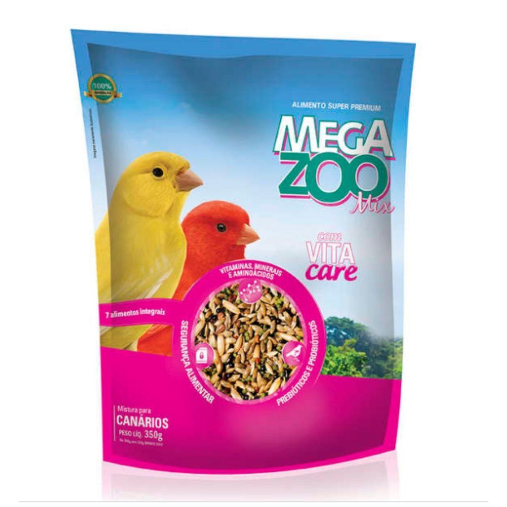 Ração Mix para Canário 350 g Megazoo
