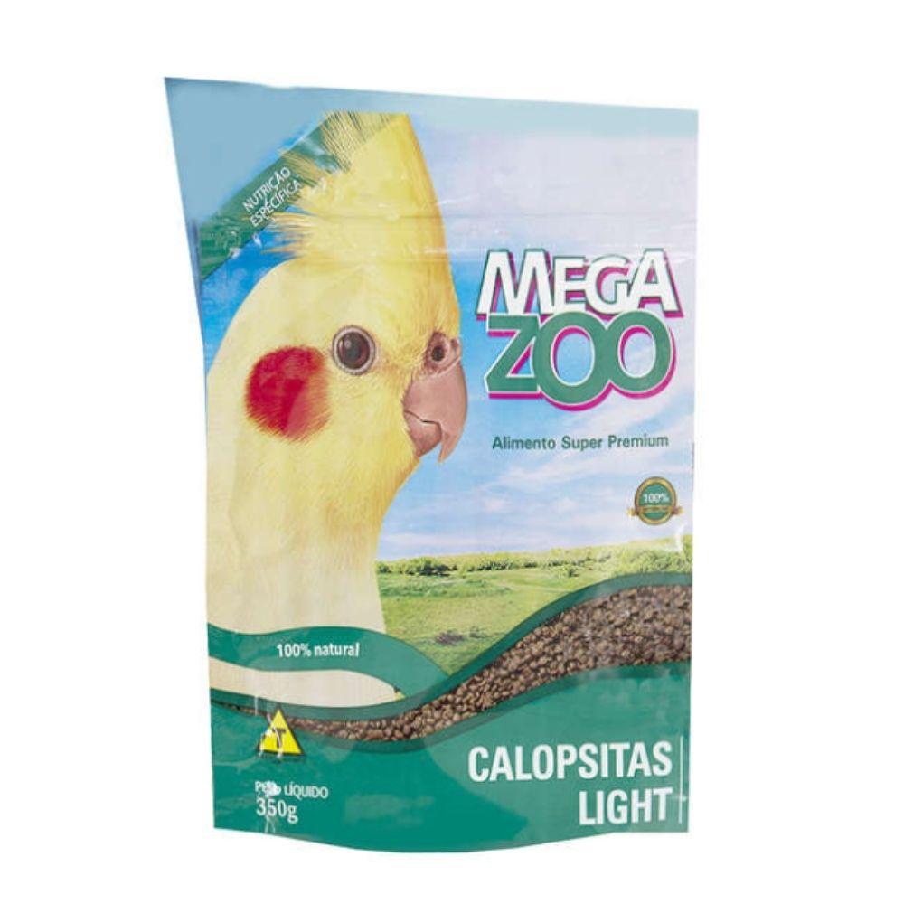 Ração para Calopsita Light 350 g Megazoo