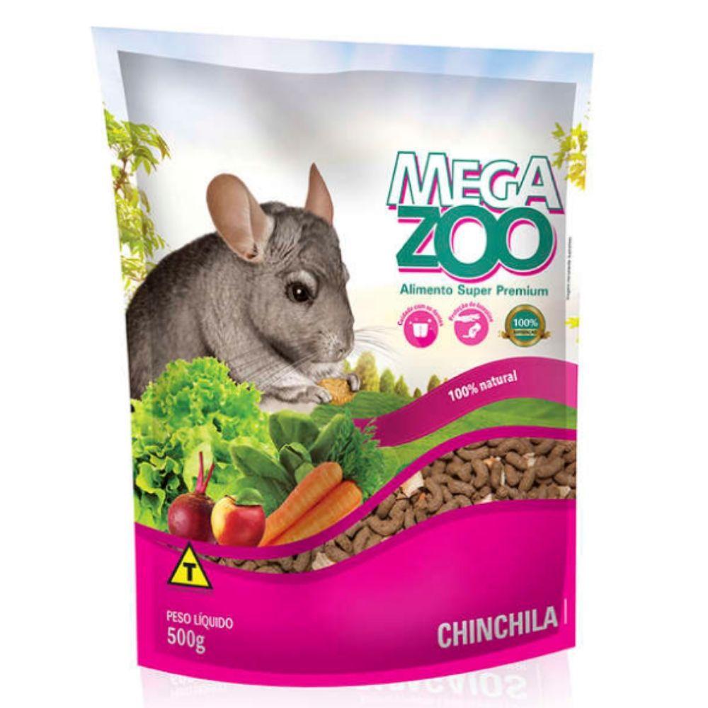 Ração para Chinchila 500g Extrusada Megazoo