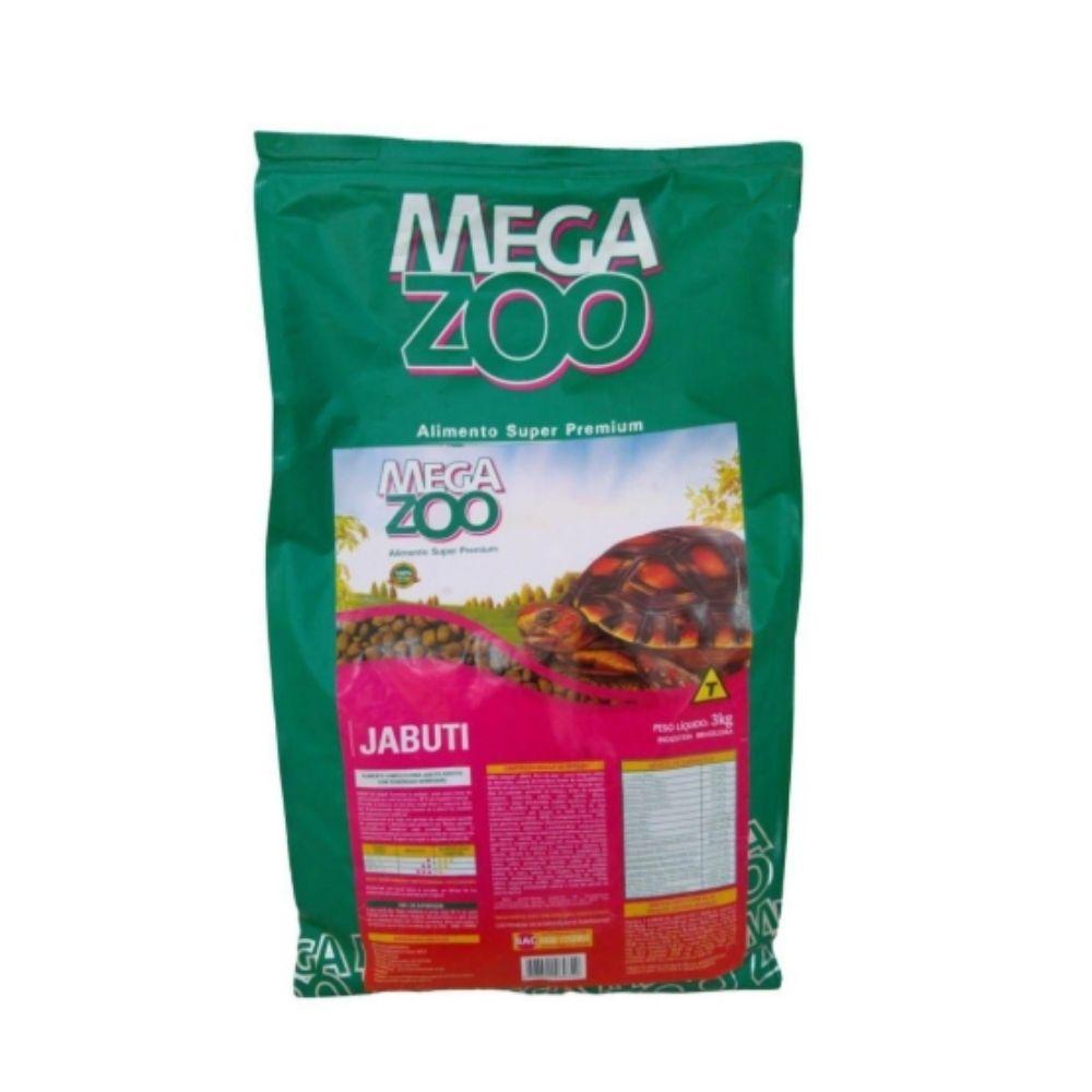 Ração para Jabuti 3kg Extrusada Megazoo