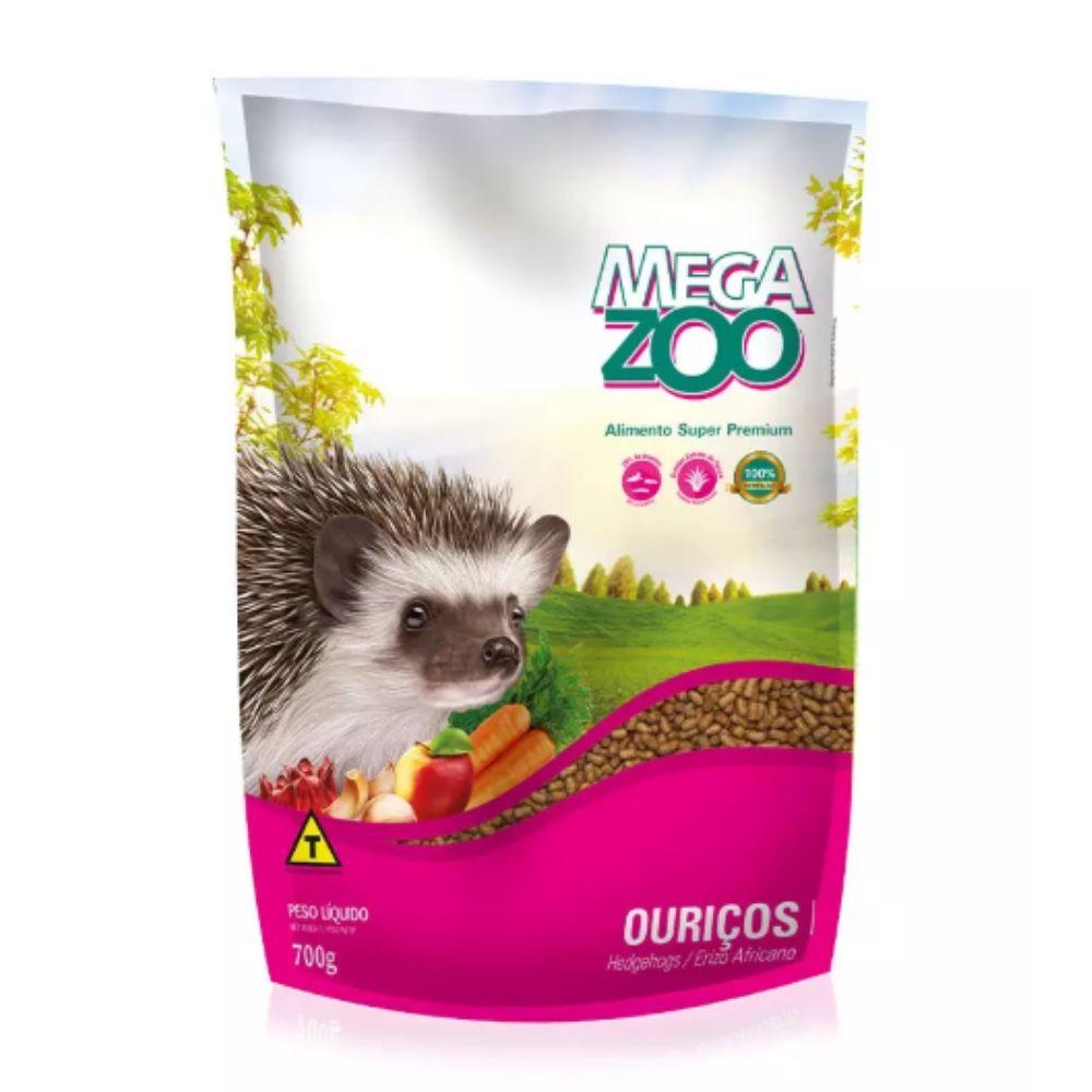 Ração para Ouriço / Hedghogs 700g Extrusada Megazoo