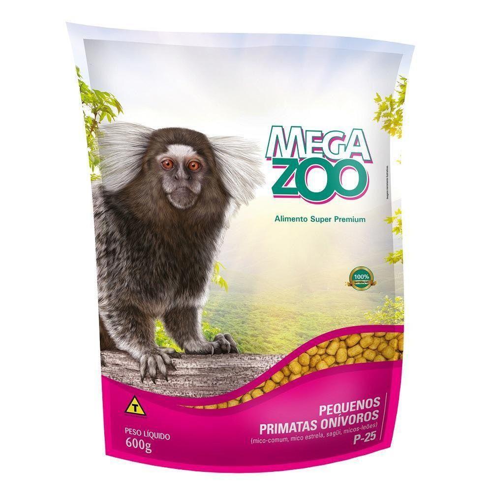 Ração para Primata Onívoro P25  com 600g Megazoo