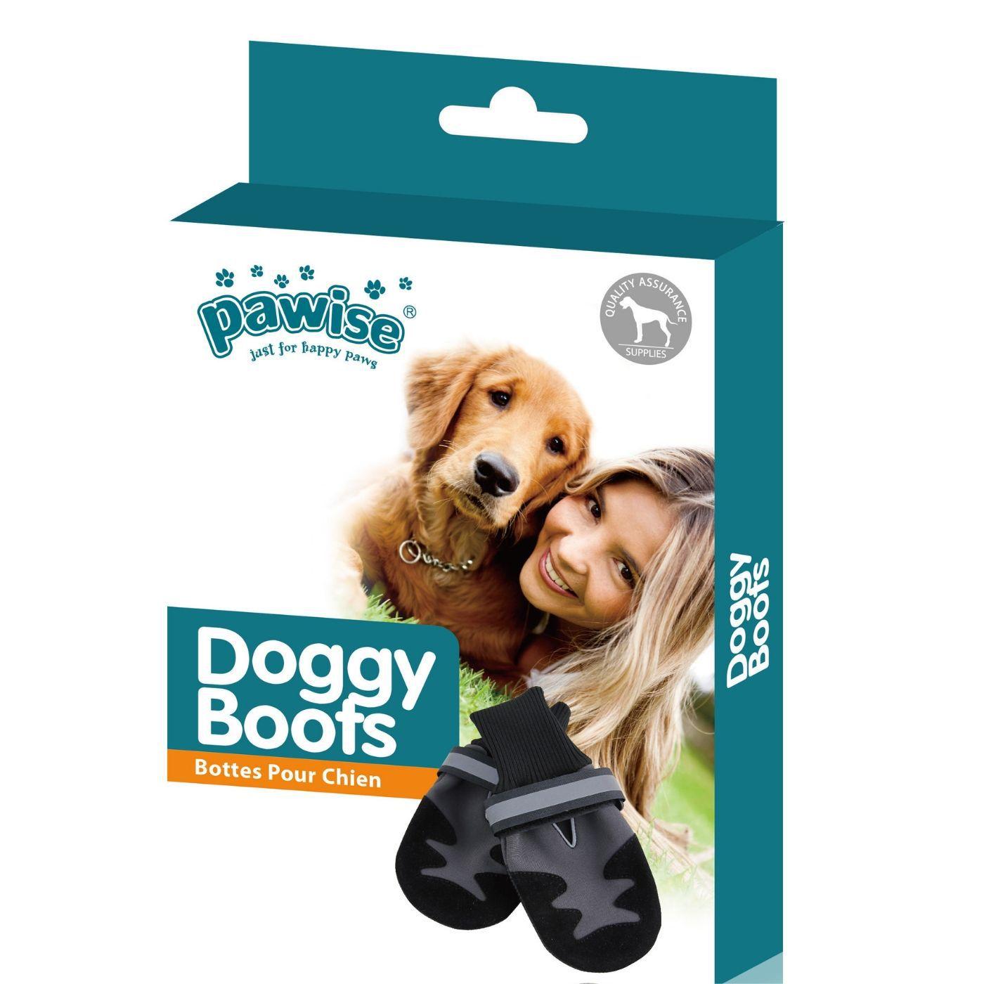 Sapato Ajustável para Cachorro PP Pawise  (Contém 1 par)