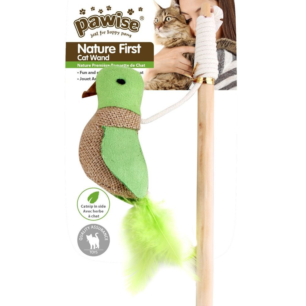 Varinha para Gato Pássaro CATNIP Pawise