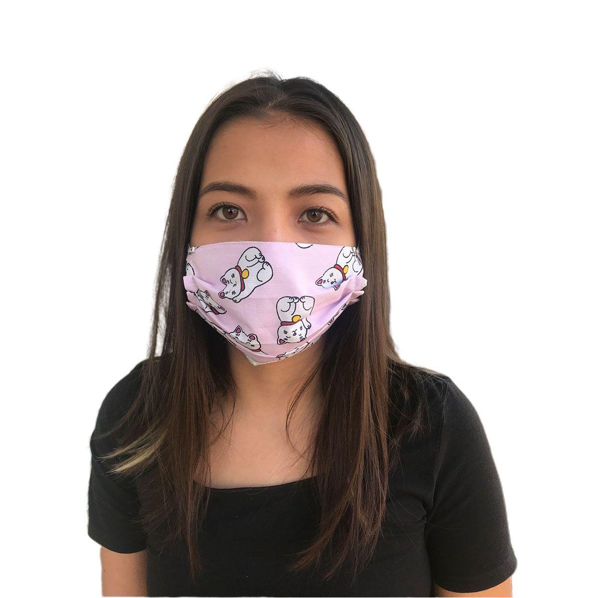 Máscara De Proteção Não Descartável - Estampas Variadas