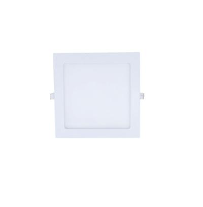 Painel de embutir Quadrado de 12w 6000k (Luz Branca)
