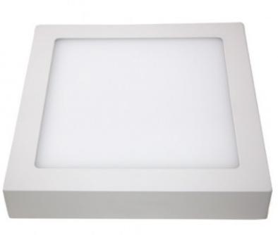 Painel de sobrepor  6w Quadrada 6000k (Luz branca)