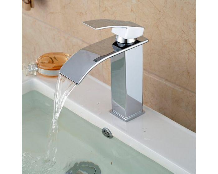 Torneira Banheiro Monocomando Lavabo Bica Baixa Infinity :M