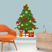 Adesivo de Porta e Parede - Árvore de Natal 2