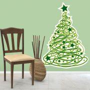 Adesivo de Porta e Parede - Árvore de Natal 4