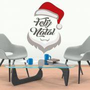 Adesivo de Porta e Parede - Papai Noel 2