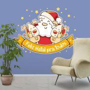 Adesivo de Porta e Parede - Papai Noel 3
