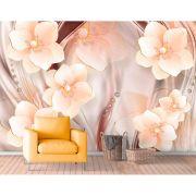 Painel Adesivo - Flor 3D Elegante 2