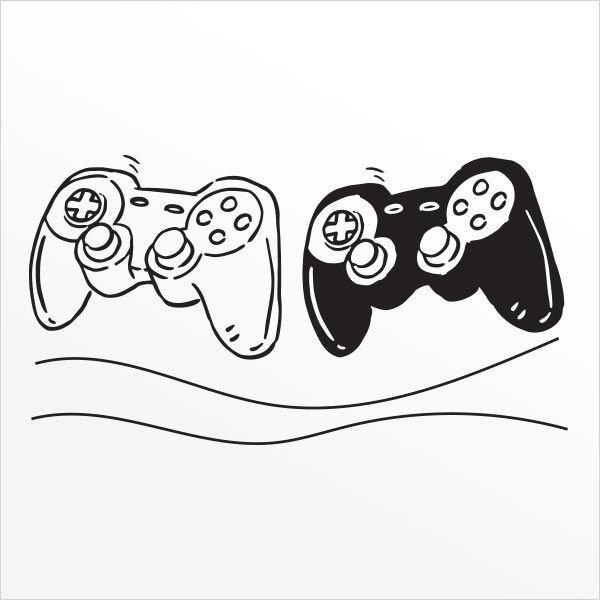 ADESIVO DE PAREDE - GAME CONTROLER