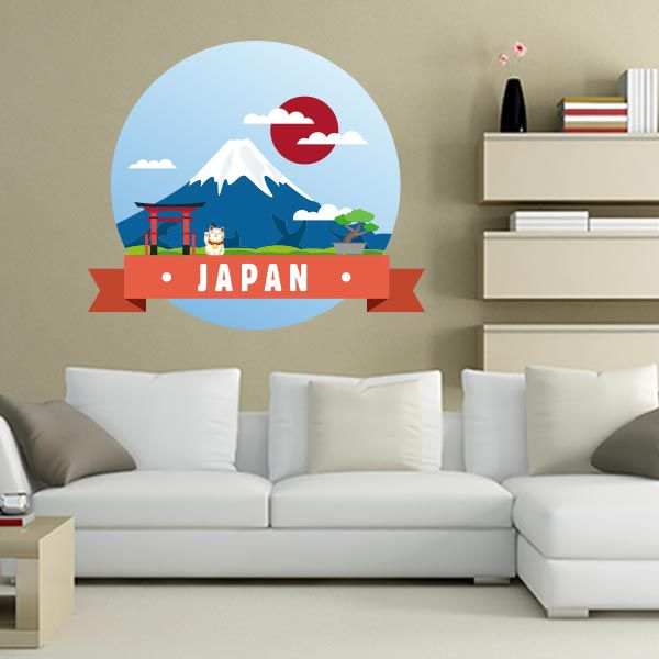 ADESIVO DE PAREDE - JAPAN