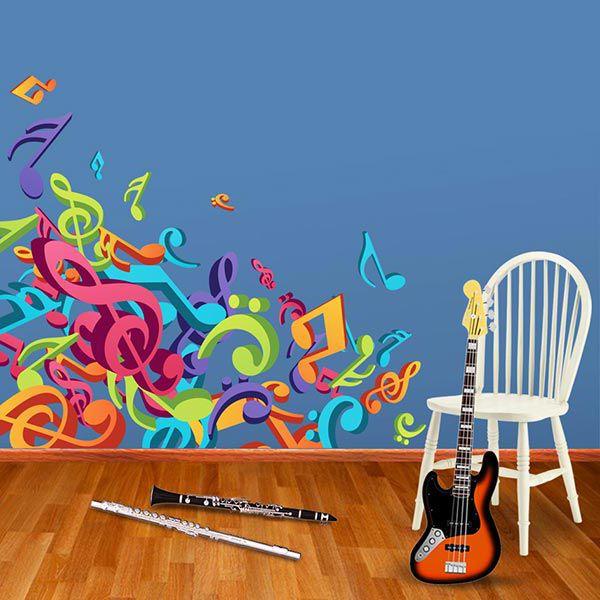 ADESIVO DE PAREDE - MUSICA CIFRAS