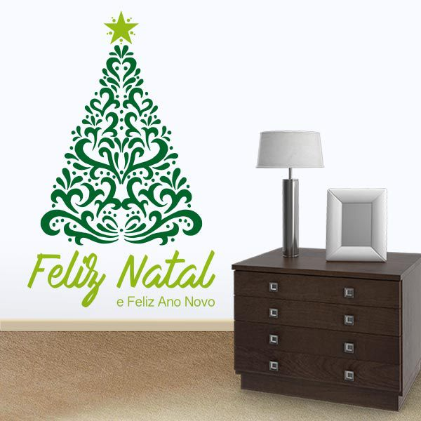 Adesivo de Porta e Parede - Árvore de Natal 1
