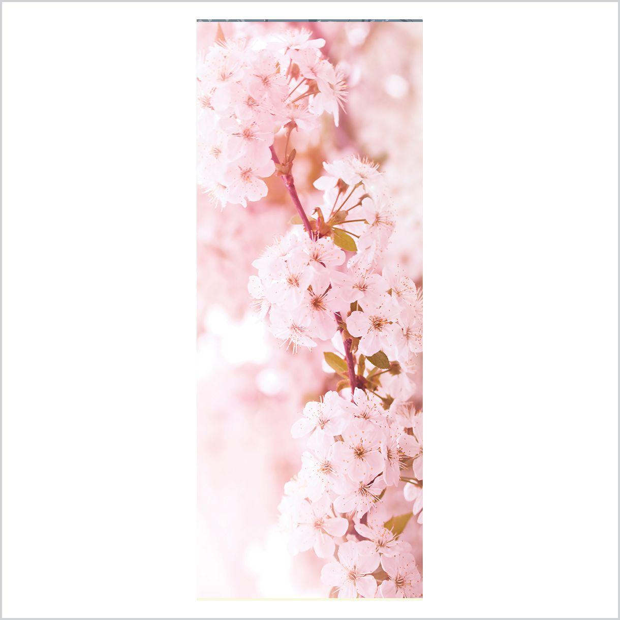 ADESIVO DE PORTA -  Flores Cerejeira 6