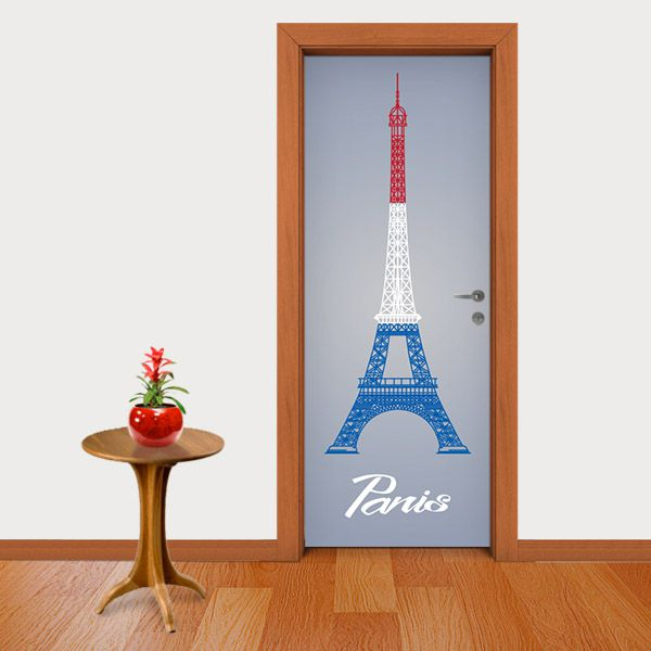 ADESIVO DE PORTA - PARIS 2