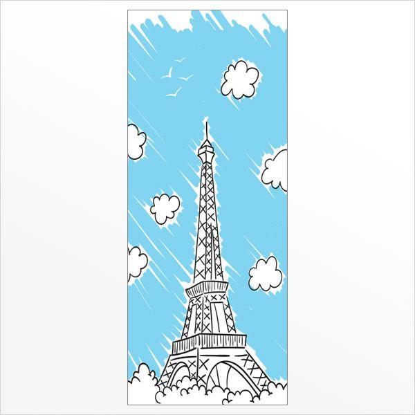 ADESIVO DE PORTA - PARIS 3