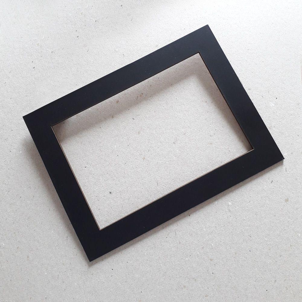 Adesivo de parede Mapa-Múndi com molduras em PS 2mm
