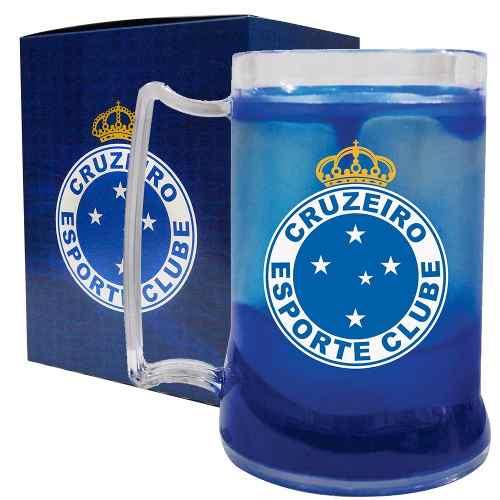 Caneca Chopp Gel - Cruzeiro