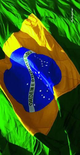 Toalha De Praia Veludo - Brasil