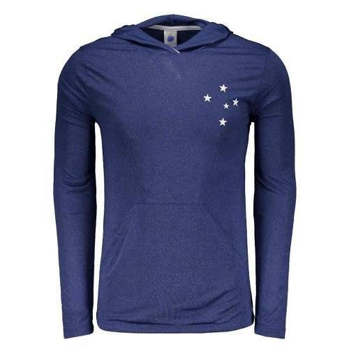 Camisa Cruzeiro Velve Manga Longa