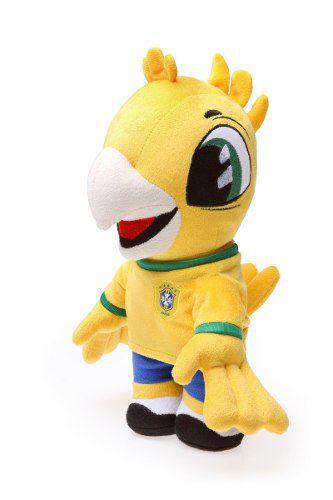 Mascote Pelúcia Canarinho Oficial Brasil Cbf