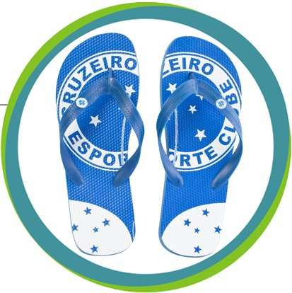 Chinelo Adulto - Cruzeiro