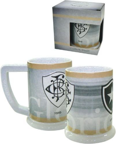 Caneco Retrô Em Cerâmica De Alta Qualidade! Botafogo!