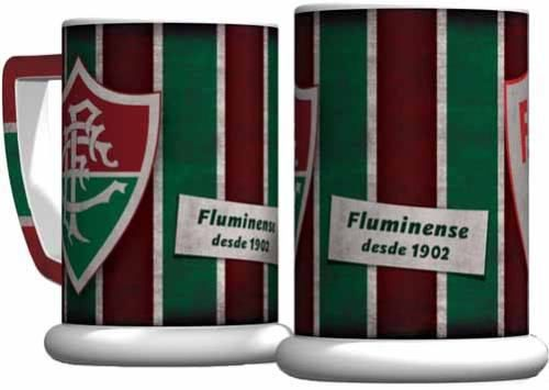 Caneco Retrô Em Cerâmica De Alta Qualidade! Fluminense!
