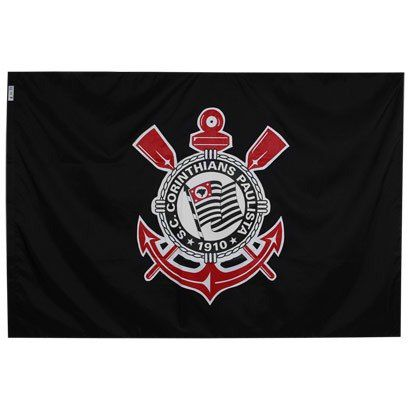 Bandeiras Oficiais - 2 Panos 1,30 X 0,90 Cm. Corinthians