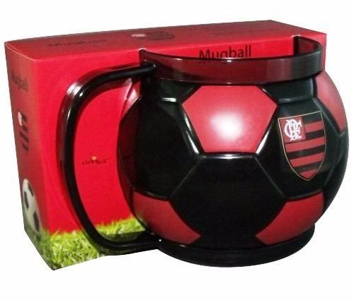 Caneca Bola Do Seu Time - Flamengo