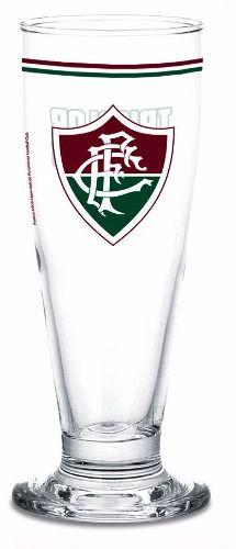Copo Chopp Cerveja 300 Ml Com Lata Cofre Fluminense