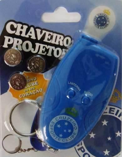 Chaveiro Projetor E Toca O Hino - Cruzeiro