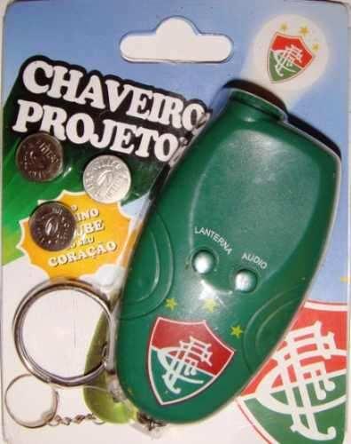 Chaveiro Projetor E Toca O Hino - Fluminense