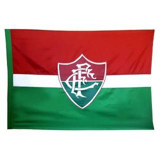 Bandeira Torcedor - 2 Panos 1,30 X 0,90 Cm. Fluminense