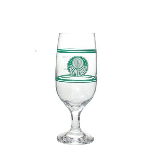 Copo Chopp Cerveja 300 Ml Com Lata Cofre Palmeiras