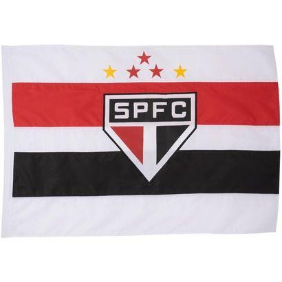 Bandeira Torcedor - 2 Panos 1,30 X 0,90 Cm. São Paulo