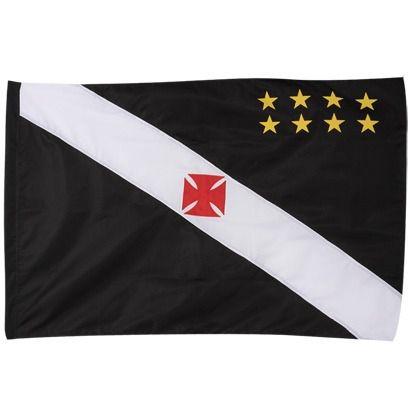 Bandeira Torcedor Oficial - 2 Panos 1,20 X 0,80 Cm. Vasco