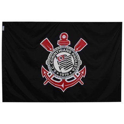 Bandeira - 2 Panos 1,30 X 0,90 Cm. Corinthians