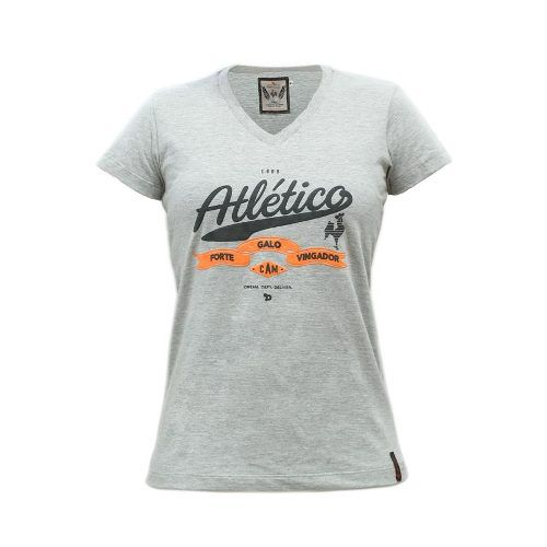 Camiseta Feminina Galo Forte Vingador Atlético Mineiro